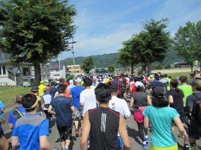 2018 今年も走った南魚沼グルメマラソン