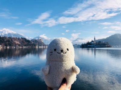 スロヴェニア ブレッド湖