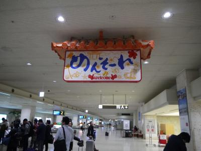 JALパック「沖縄をあそぼう」で行く6歳2歳子連れ沖縄旅行 -1日目前半-