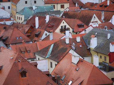 早春のオーストリア&チェコ2人旅 珠玉の4つの街を巡る5泊7日+ おまけの1Day台北 (6)絵本の世界チェスキークルムロフで朝の散歩♪