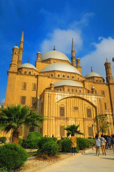 エジプト5日間の旅⑥~モハメッドアリモスク、スーパー、お土産~