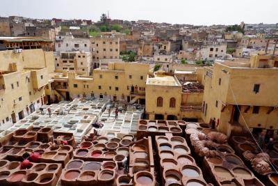 忘れられないモロッコの旅 4.迷宮の古都フェズ 前編