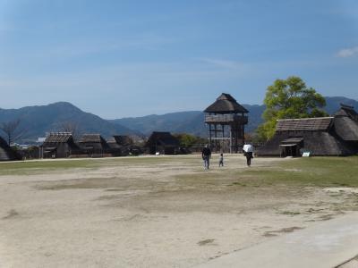 母娘・FDAで佐賀へ 吉野ヶ里遺跡は立派だった!
