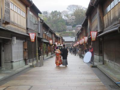 北陸路・飛騨路(21)金沢・ひがし茶屋街