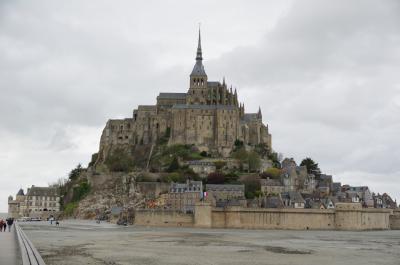 2019年 フランス~スペイン レンタカーで巡る旅(18) モン・サン・ミッシェル