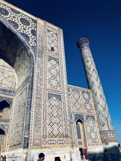 """ウズベキスタンをひとまわり、サマルカンドは、ほんとに美しい""""青の都""""だった!"""