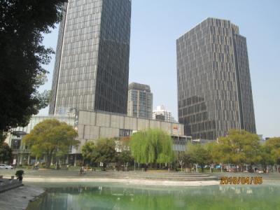 上海の新天地・太平橋公園・2019年春