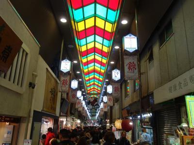 京都のお散歩。三条通り,寺町通り,錦小路。いつもの散歩道です。