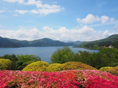 2019年5月 平日温泉旅 in 箱根翡翠 ~ 新緑とツツジ、定番の箱根観光