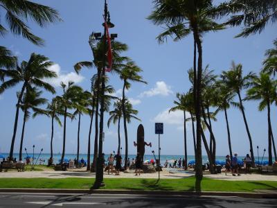 2019年4泊6日ハワイ旅行記(ホノルルハーフマラソンハパルアツアー)②サニーデイズで朝食&ビーチで至福のひととき