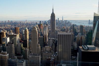 トップ・オブ・ザ・ロックからマンハッタンを眺める:ロック&モマ、そして帰国へ:2019ニューヨーク4(最終章)