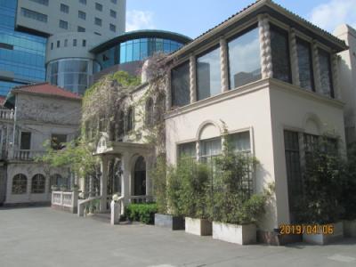 上海の成隆行頤豊花園・歴史建築・上海蟹