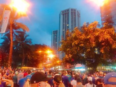 2019年4泊6日ハワイ旅行記(ホノルルハーフマラソンハパルアツアー)③ハーフマラソン前半