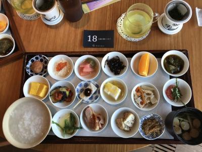 東京散歩  築地本願寺カフェの朝食 、築地場外市場見学、銀座の無印良品