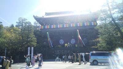 桜とGWをずらして2泊3日京都旅行