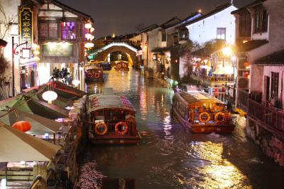 上海蘇州'19①~蘇州古典園林と京杭大運河