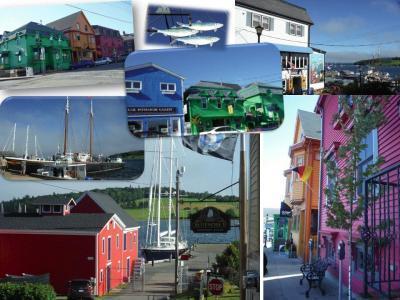 カナダ東部5州、ドライブ旅行2018 Day10-9(世界遺産の町 Lunenburgを散策)