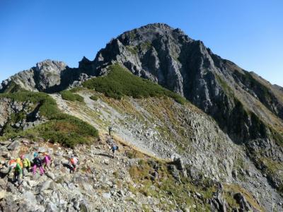 立山剱岳縦走登山合宿・その3.月例登山報告「剱岳」。