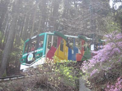 青梅で山登りと鉄道公園