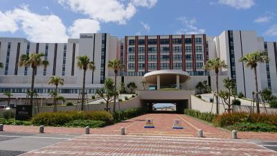 ダブルトゥリーbyヒルトン北谷・ヒルトン沖縄北谷リゾートでホテルステイを楽しむ&ホエールウォッチング