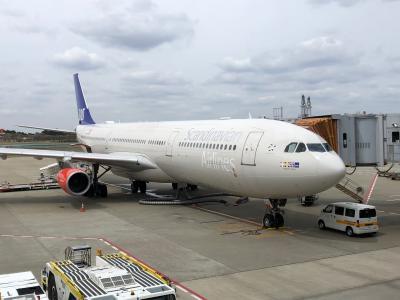 スカンジナビア航空で成田空港からヒースロー空港へ!(コペンハーゲン空港で乗り継ぎ)