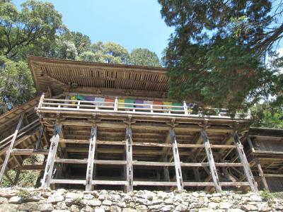 岐阜県飛騨地方の旅 1(関市の日龍峯寺と下呂温泉)