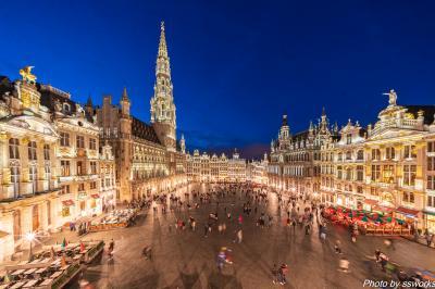 ANA特典ファースト&ビジネスで行くヨーロッパ2ブリュッセル1日目