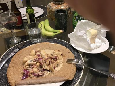 シェーブルチーズたくさん買ってきた!パリ、レンヌ、サンマロの旅 ~初日街歩き パリ編~