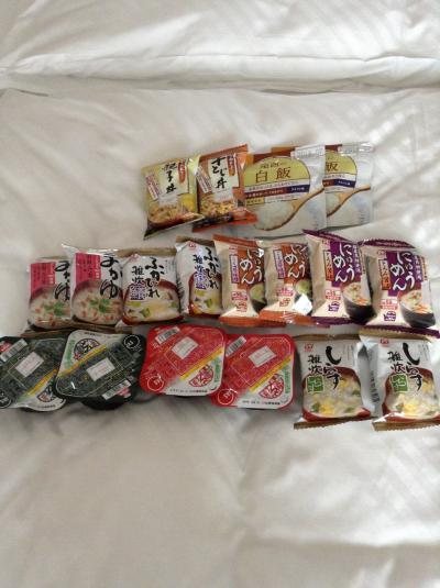 ベルリンでラーメンを食した2013年……その他、持ち込んだフリーズドライ日本食やこの時の食事情など
