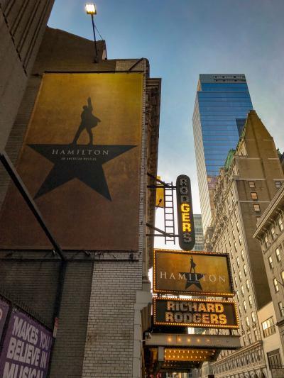 ニューヨーク観劇旅行2019春③セントパトリック教会、ミュージカルハミルトン