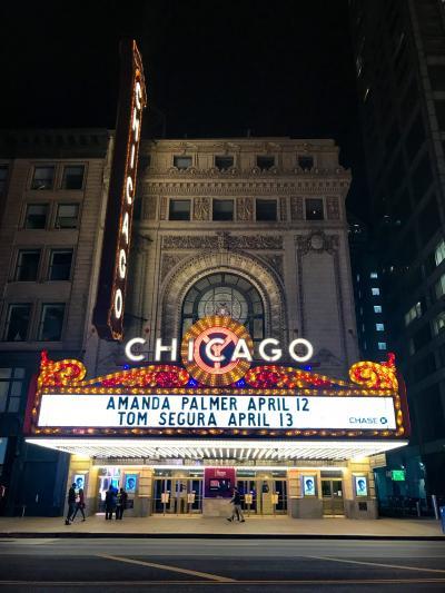 ニューヨーク観劇旅行2019春シカゴへ