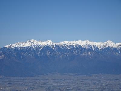 アルプスの展望台♪高ボッチ山・鉢伏山登山&桜満開の松本