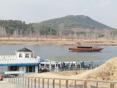 春のソウルから韓流めぐり2019(3)「扶余その1 白馬江」