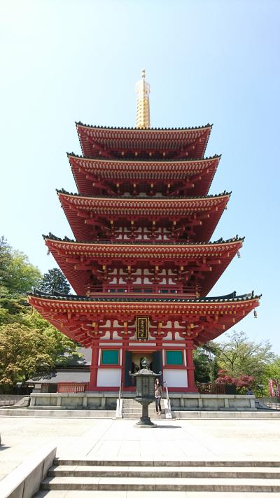 高尾山の帰り道、高幡不動に行ってきました。