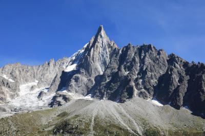 スイス5日目①シャモニーのモンブランとメール・ドゥ・グラス氷河