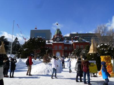 初・さっぽろ雪まつり + 小樽 + 余市 1