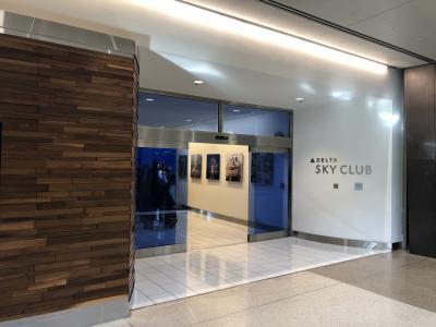 2019年4月 パリ旅行記 その1 Delta Sky Club SFO and SEA 、DL SFO SEA 搭乗記