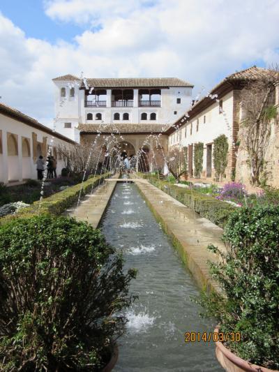 スペイン世界遺産を巡る③グラダナ