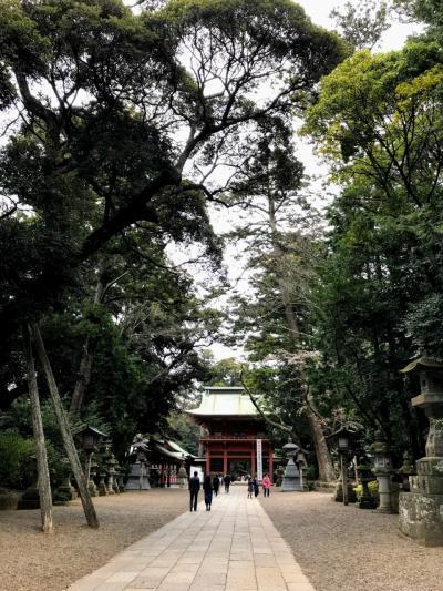 2019春 青春18旅 <茨城&千葉遠征> ②「日本随一のパワースポット 鹿島神宮へ・・・」