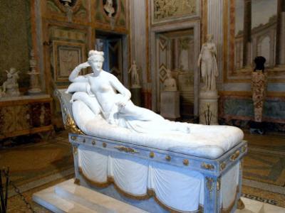 ローマを1週間、個人でゆっくり観光②ボルゲーゼ美術館