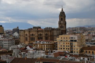 スペイン旅行-15:マラガ(のんびり過ごす)