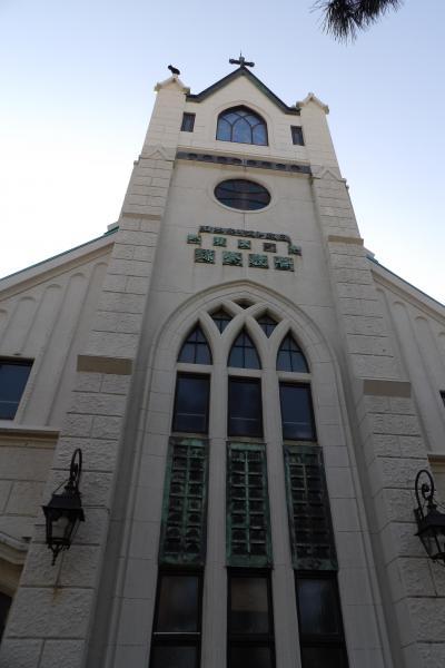 日本基督教団鎌倉教会とハリス記念鎌倉幼稚園-2019年春