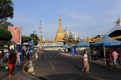 ヤンゴンに戻ってきました。3日ほどゆっくりします。