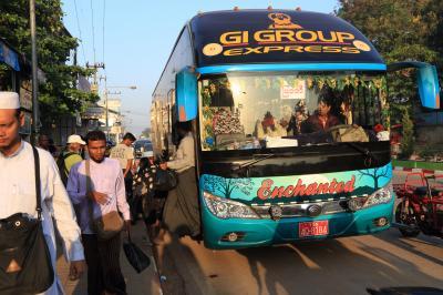 ミャンマーのミャワディからタイのメーソートへ