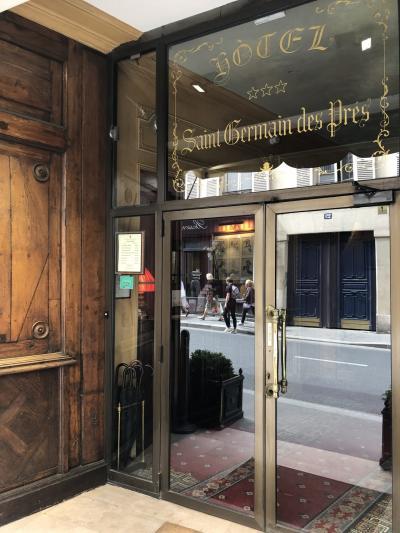 2019年 4月 パリ旅行記 その3 Hotel Saint Germain des pres 宿泊記