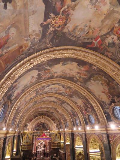 マルタ島 おばちあちゃんになる前の 一人旅 つづき3 聖ヨハネ大聖堂