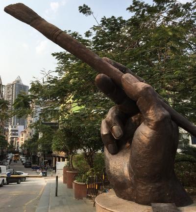 中国深セン:5度目の大芬で油絵初購入