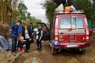 エベレスト街道274㌔巡礼の道を歩き登った記録 3.登山口Goliへジープで10時間の陸路移動