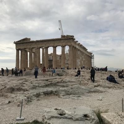 コスタ・デリチョーザでアドリア海・エーゲ海周遊 5 西欧文明発祥の地、ギリシャの首都アテネでアクロポリスで古に思いをはせる