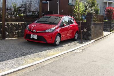 富士山ナンバーの車